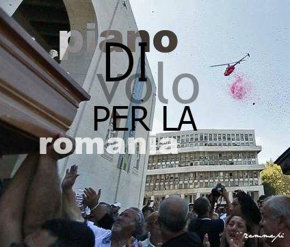 piano di volo per la romania