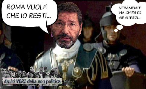roma vuole che resti